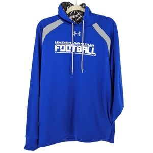 Under Armour Loose Football Hoodie Pullover XL